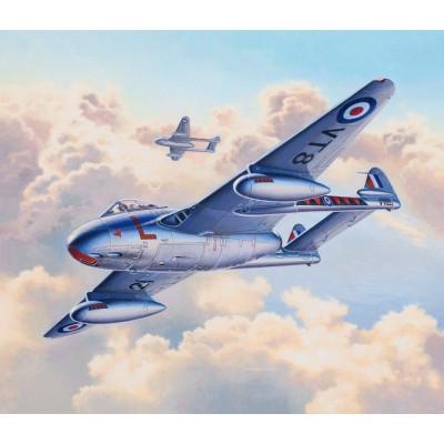 de HAVILLAND DH.100 VAMPIRE F.Mk.3 -1/72- Revell 03934