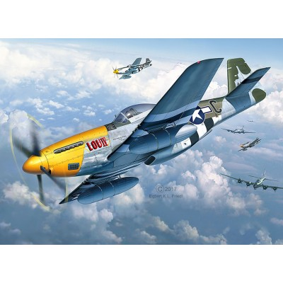 NORTH AMERICAN P-51 D MUSTANG -1/32- Revell 03944