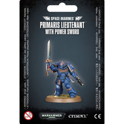 SPACE MARINE PRIMARIS LIEUTENANT WITH POWER SWORD - GAMES WORKSHOP 48-84
