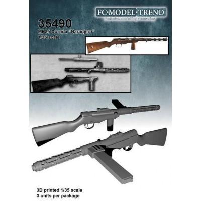 SET SUBFUSIL MP-35 CORUÑA (NARANJERO) FCM35490 ESCALA 1/35 -