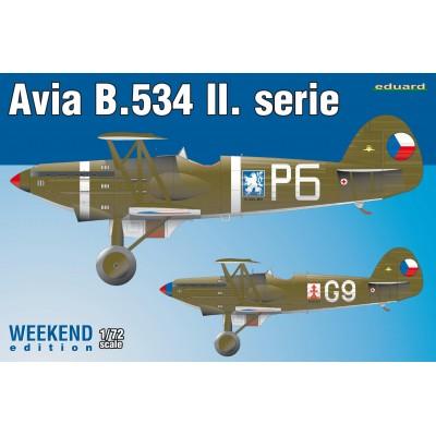 AVIA B-534 II Serie -1/72- Eduard 7448