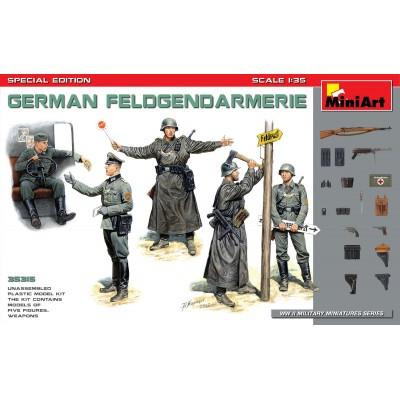 POLICIA MILITAR ALEMANA FELDGENDARMERIE - ESCALA 1/35- MiniArt Models 35315