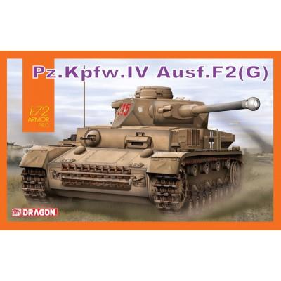 CARRO DE COMBATE Sd.Kfz. 161 Ausf F2 (G) Panzer IV -1/72- Dragon 7549