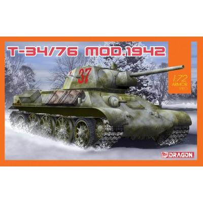CARRO DE COMBATE T-34/76 Mod. 1942 -1/72- Dragon 7595