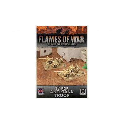 BATERIA CAÑON 17 LIBRAS (2 unidades) - Flames of War BBX41