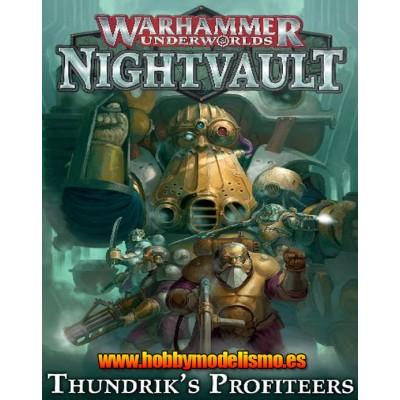 NIGHTVAULT ESTRAPERLISTAS DE THUNDRIK - GAMES WORKSHOP 110-54-03