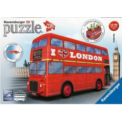 PUZZLE 3D 108 PZS LONDON BUS - RAVENSBURGER 12534