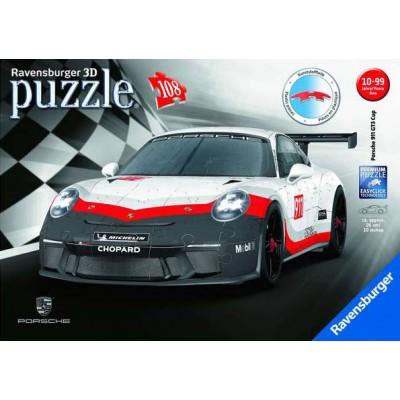 PUZZLE 3D 108 PZS PORSCHE 911 GT3 CUP - RAVENSBURGER 11147