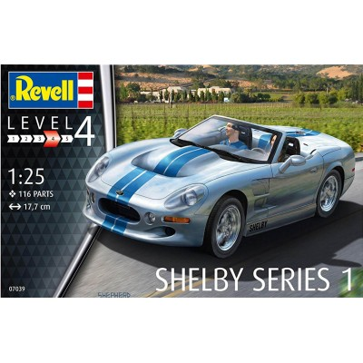 SHELBY SERIES 1 - ESCALA 1/25 - REVELL 07039