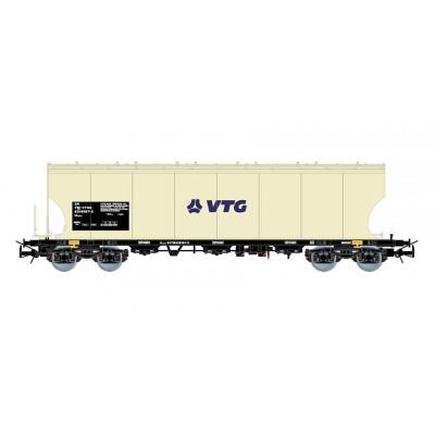 VAGON TOLVA VTG RAIL ESPAÑA BEIGE EP.VI - ESCALA H0 - ELECTROTREN E6539