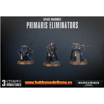 SPACE MARINES PRIMARIS ELIMINATORS - GAMES WORKSHOP 48-93