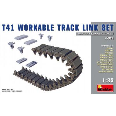 SET ORUGAS T-41 LEE / GRANT / SHERMAN -1/35- MiniArt Models 35322
