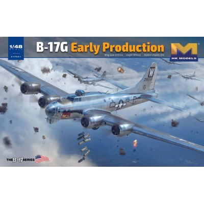 BOEING B-17 G FLYING FORTRESS -1/48- Hong Kong Models 01F001