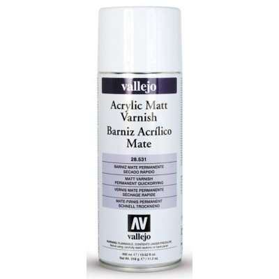 SPRAY ACRILICO BARNIZ MATE (400 ml)