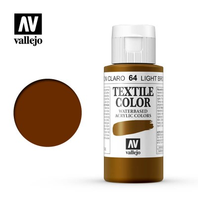 Textile Color: MARRON CLARO (60 ml) - Acrilicos Vallejo 40064