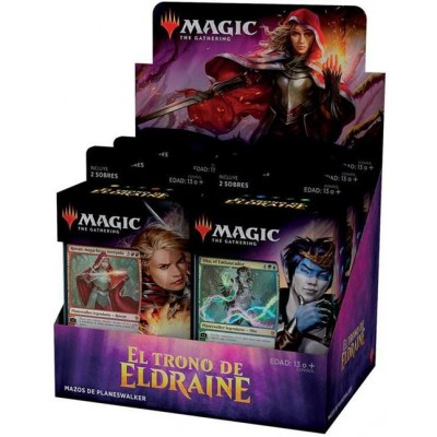 MAZO MAGIC EL TRONO DE ELDRAINE (15 CARTAS)