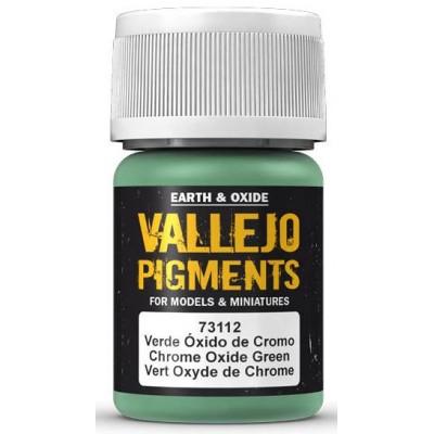 PIGMENTO OXIDO DE CROMO (30 ml) - Acrilicos Vallejo 73112