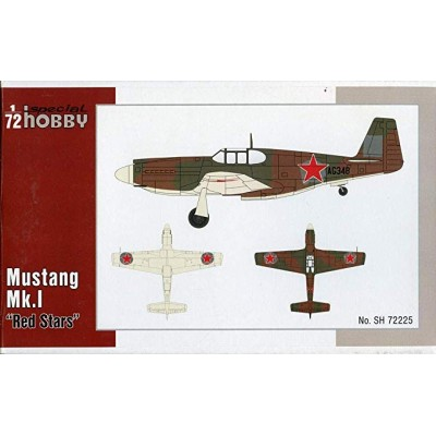 NORTH AMERICAN MUSTANG MK-I (Red Star) -1/72- Special Hobby SH72225