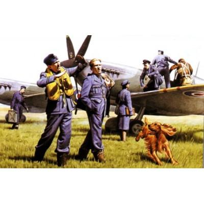 PILOTOS Y PERSONAL RAF 1/48