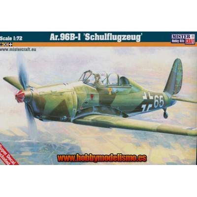 ARADO AR.96 B-1 SCHULFLUGZEUG - ESCALA 1/72 - MISTER HOBBY CRAFT 041694