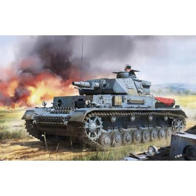 CARRO DE COMBATE SD.KFZ.161 Ausf. F1 PANZER IV - 1/35 - Border Model BT003