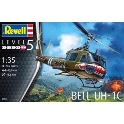 BELL UH-1C - ESCALA 1/32 - REVELL 04960
