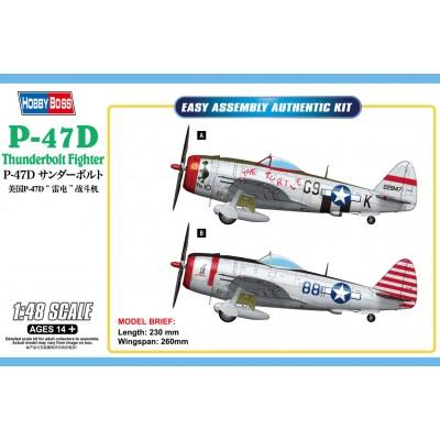 REPUBLIC P-47 D THUNDERBOLT -1/48- Hobby Boss 85811