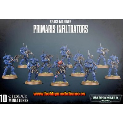 SPACE MARINES PRIMARIS INFILTRATORS GAMES WORKSHOP 48-97
