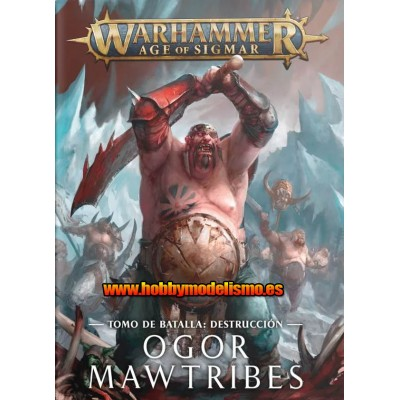 BATTLETOME OGOR MAWTRIBES EN ESPAÑOL - GAMES WORKSHOP 95-03
