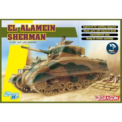 CARRO DE COMBATE M-4 A1 SHERMAN Early (El Alamein) -1/35- Dragon 6617
