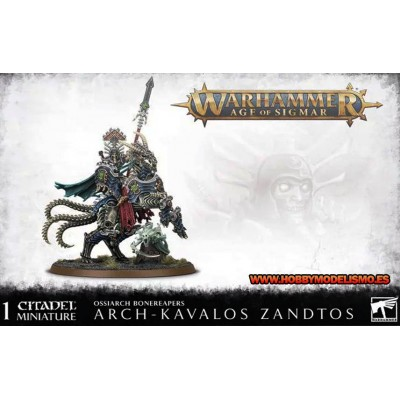 OSSIARCH BONEREAPERS ARCH KAVALOS ZANDTOS - GAMES WORKSHOP 94-30