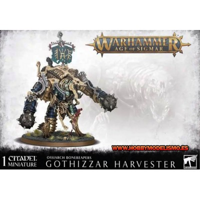 OSSIARCH BONEREAPERS GOTHIZZAR HARVESTER - GAMES WORKSHOP 94-29