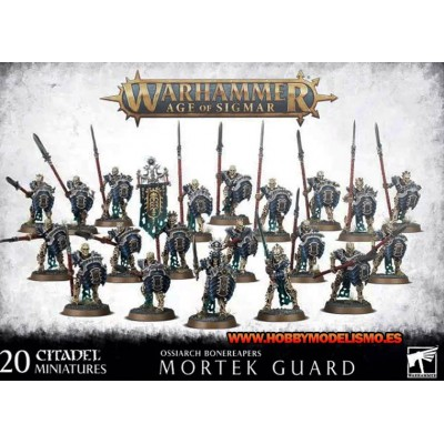 OSSIARCH BONEREAPERS MORTEK GUARD - GAMES WORKSHOP 92-25
