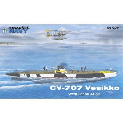 SUBMARINO CV 707 Vesikko -1/72- Special Navy 72004
