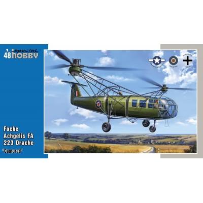 FOCKE ACHGELIS FA-223 DRACHE (Capturado) -1/48- Special Hobby SH48201