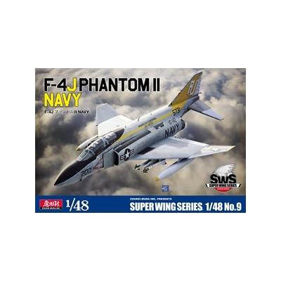 McDONNELL DOUGLAS F-4 J PHANTOM II (U.S. NAVY) -1/48- ZOUKEI-MURA SWS4809