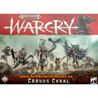 WARCRY CORVUS CABAL - GAMES WORKSHOP 111-03