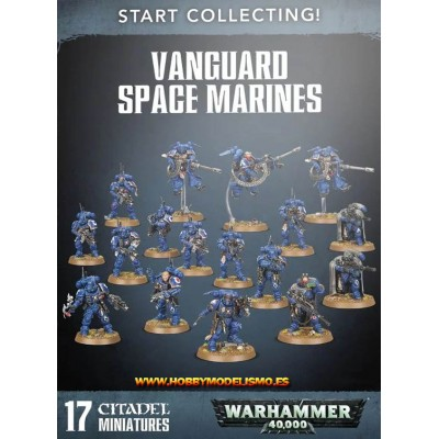 START COLLECTING VANGUARD SPACE MARINES - Games Worshop 7042