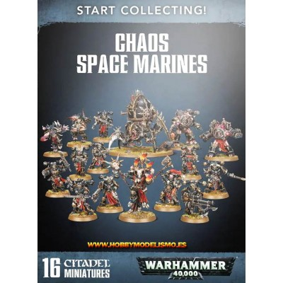 START COLLECTING CHAOS SPACE MARINES - Games Worshop 70-40