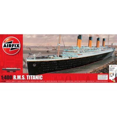 TRANSATLANTICO R.M.S. TITANIC (Pegamento & pinturas) -1/400- Airfix A05146A