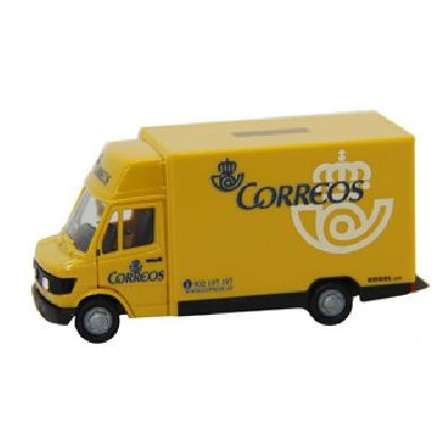 CAMION MERCEDES-BENZ MB207 CORREOS -1/87 - H0- Herpa 042444