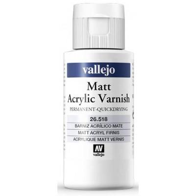 BARNIZ ACRILICO PERMANENTE MATE (60 ml)