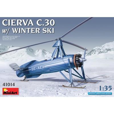 AUTOGIRO AVRO-CIERVA C-30 A SKIES -1/35- MiniArt 41014