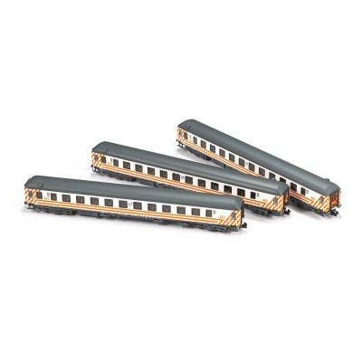 SET COCHES 16200 RENFE-Regionales (3 unidades) -N - 1/160- MF Train N71005