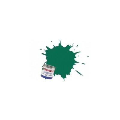 PINTURA ESMALTE VERDE OSCURO MATE (14 ml)