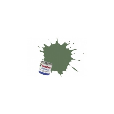 PINTURA ESMALTE VERDE HIERBA MATE (14 ml)