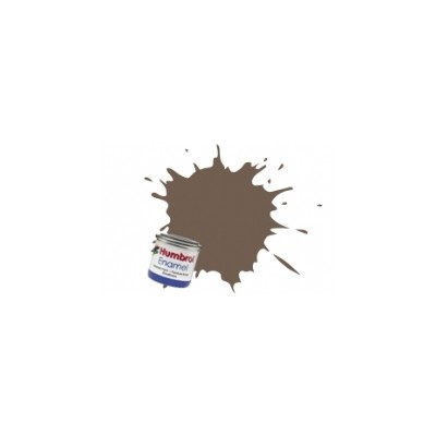 PINTURA ESMALTE CHOCOLATE MATE (14 ml)