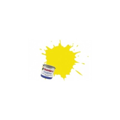 PINTURA ESMALTE AMARILLO LIMON MATE (14 ml)