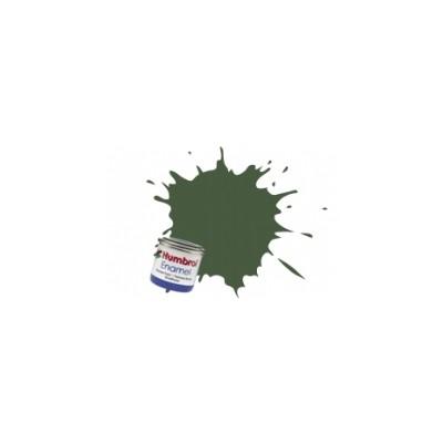 PINTURA ESMALTE VERDE APAGADO MATE (14 ml)