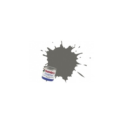 PINTURA ESMALTE GRIS PIZARRA OSCURA MATE (14 ml)